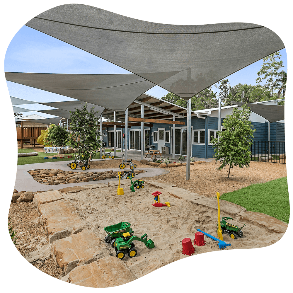 Outdoor image of the Sanctuary Early Learning Center Buderim